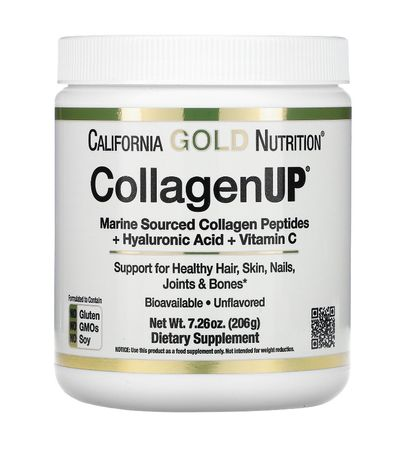 Морской коллаген, CollagenUP 206 г, California Gold Nutrition