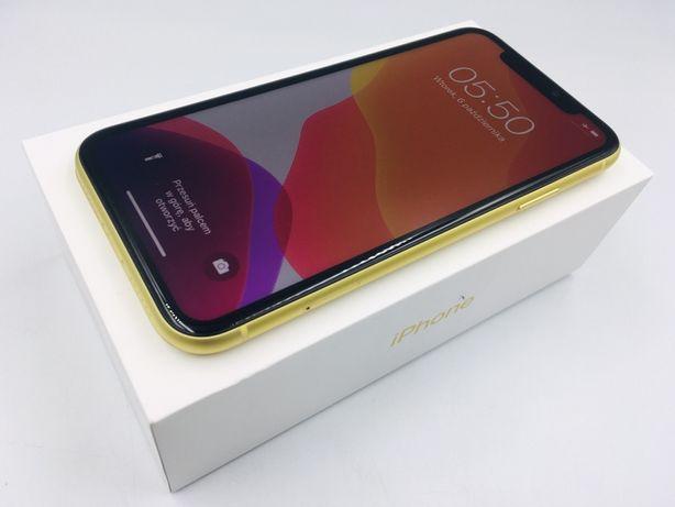 iPhone 11 64GB YELLOW • BATERIA 100% • GWAR do 11.07.21 • AppleCentrum