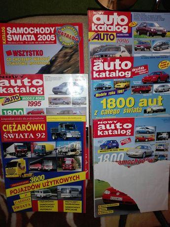 Katalogi motor,motoryzacyjne,4x4 ,lata 92,95,96,97,05