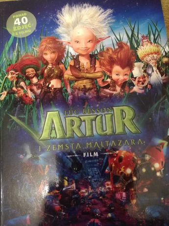 Książka pt. Artur i zemsta Maltazara