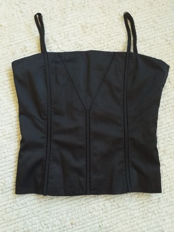 Gorset czarny H&M roz.40