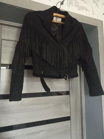 Куртка косуха бомбер ветровка с бахрамой