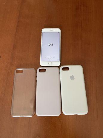 Iphone 7 usado + capas