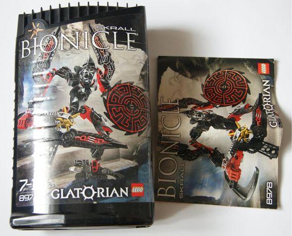 LEGO klocki BIONICLE skrall GLatorian 8978