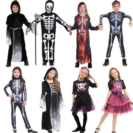 Костюмы на Хэллоуин детские САМЫЙ БОЛЬШОЙ АССОРТИМЕНТ скелет ведьма