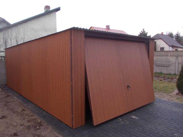 garaz blaszany 4x6  tanio okazja ocynk na busa  garaż blaszak