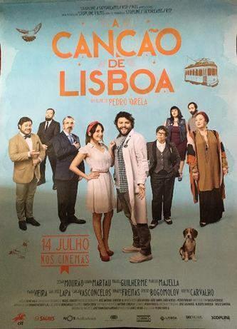 Poster/ Cartaz A Canção de Lisboa