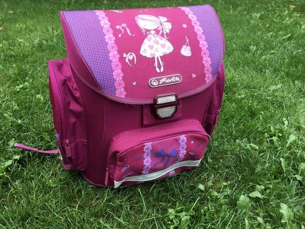 Продам школьный ранец Herlitz для девочки, суперлегкий, б/у