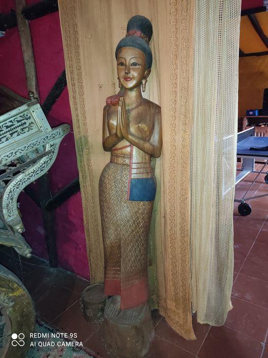 Estatueta indiana Mouronho - imagem 1