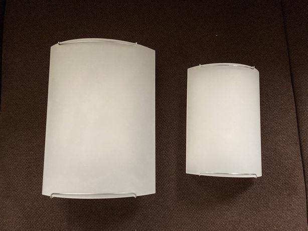 Kinkiet, plafon lampa ścienna lub sufitowa, mleczne szkło