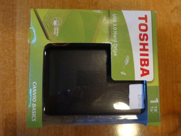 TOSHIBA dysk zewnętrzny Canvio Basics 1 TB nowy