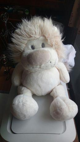 Мягкий велюровый лев львенок лева детская игрушка