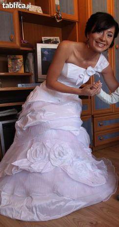 suknia ślubna S + dodatki