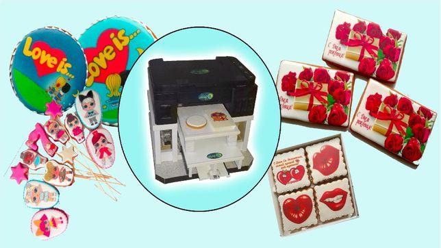 Планшетный пищевой принтер Mag Clover для пряников