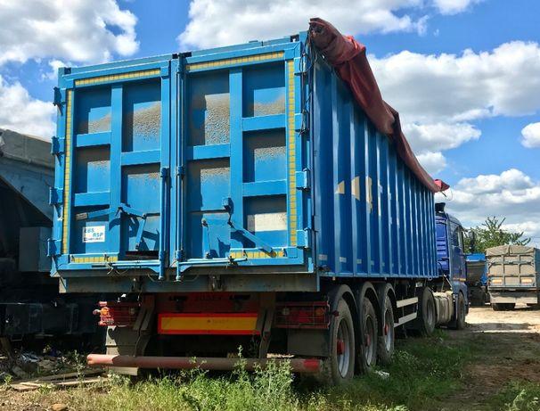 СРОЧНО. Полуприцеп зерновоз Bodex KIS 3B. 43 куба. Идеал. 2013 год.