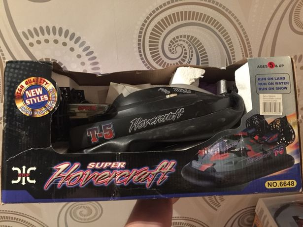 Hovercraft telecomandado - novo