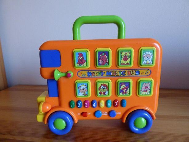 Interaktywny wesoły muzyczny autobus Playgo