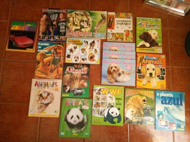 Cadernetas Animais e outros temas