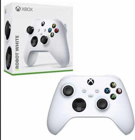 Kontroler bezprzewodowy Pad Xbox One series S/X Robot White