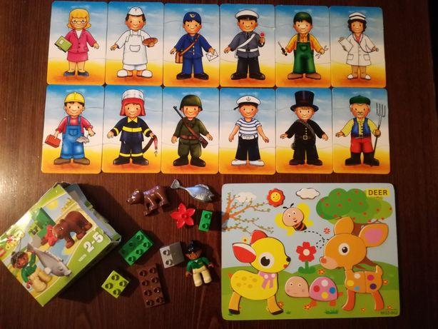 Klocki Lego Duplo, układanka, puzzle