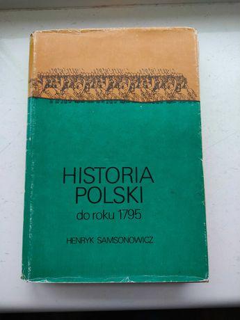 Historia Polski do roku 1795 Samsonowicz