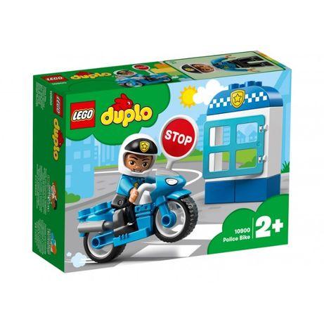LEGO DUPLO Конструктор Полицейский Мотоцикл 10900