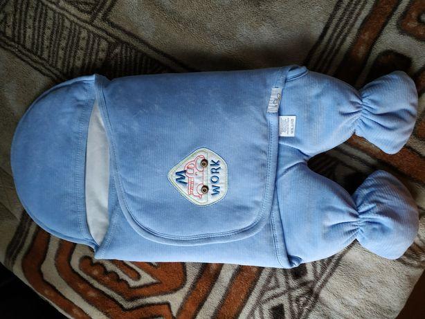 НОВЫЙ спальный мешок-конверт для малыша