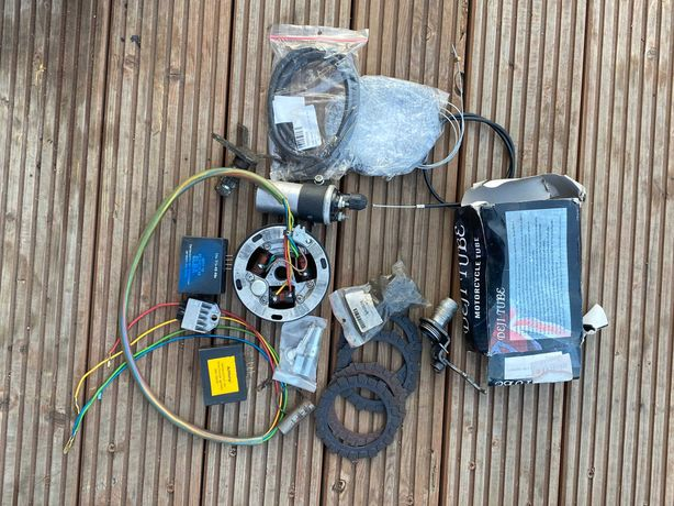 Części Simson SR50 skuter koła, piasty, opony, zapłon