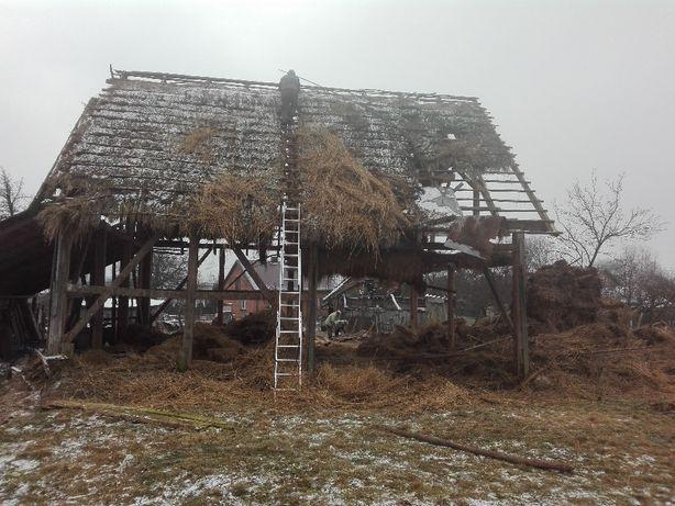 Skup rozbiórki szopa stodola wiata stare deski skup starego drewna