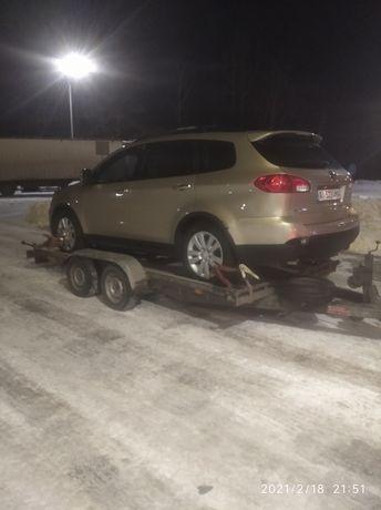 Разборка Subaru Tribeca B10 B9 запчасти капот