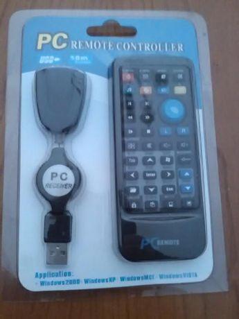 Comando USB para PC e Raspberry.