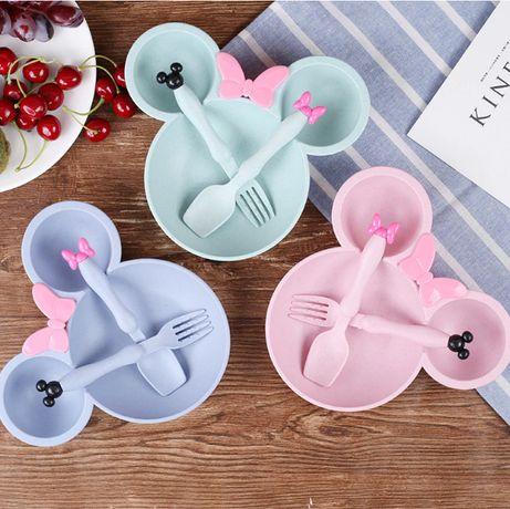 Детская тарелка набор посуды для кормления