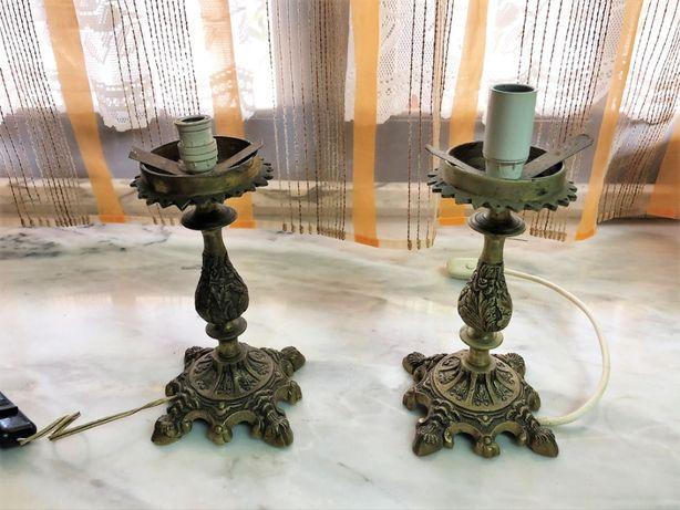 Candeeiro Antigo Bronze