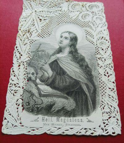 Мережева свята карта.Heil.Magdalena.1880рр.