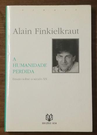alain finkielkraut, a humanidade perdida, edições asa