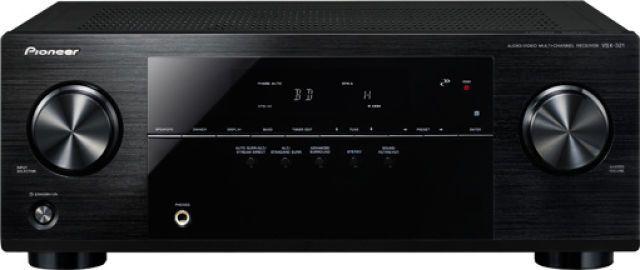 Pioneer VSX-321 Sistema 5.1 (Amplificador e colunas)