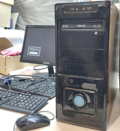 Системник ASUS + Intel Celeron E3300