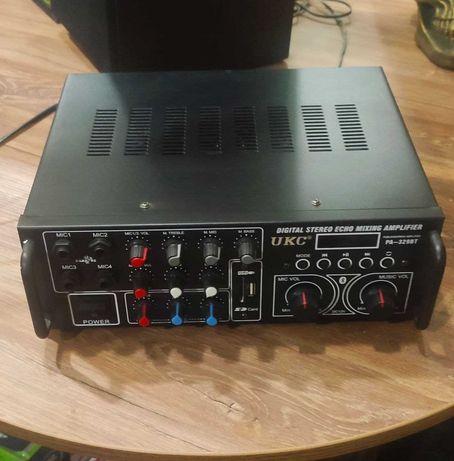 Интегральный усилитель UKC PA-329BT Bluetooth с караоке