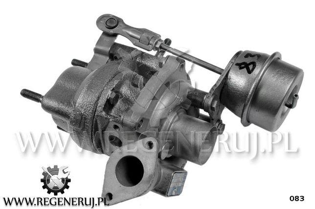 Turbosprężarka BorgWarner KKK Fiat 500 C 1.3 D 75KM 169 A1.000