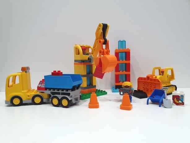Lego DUPLO 10813 wielka budowa, dźwig, spychacz, ciężarówka, klocki