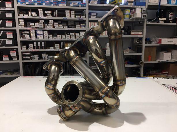Coletor escape turbo Saxo Cup / 106GTI