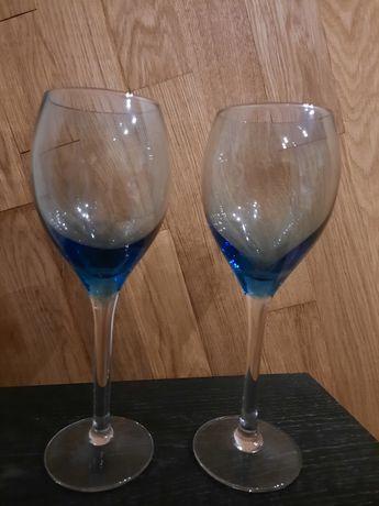 Szklane kieliszki do wina 2 sztuki