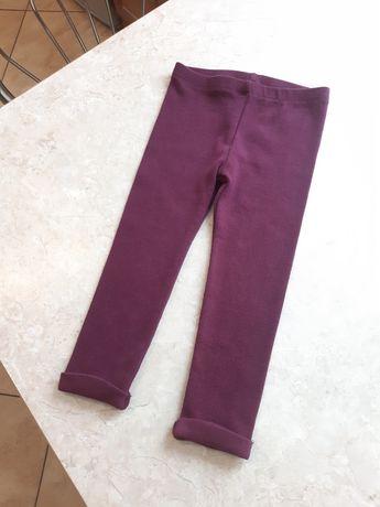 Leginsy rozm. 92 jak nowe Fagottino cieplejsze spodnie dla dziewczynki