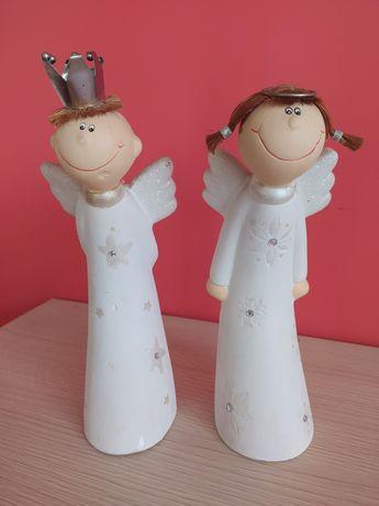 Figurki anioły para