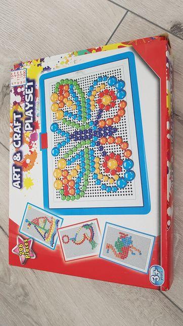 Mozaika z pinezek Art Craft Playset