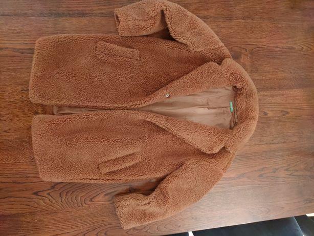 Płaszcz futerko dziewczęce