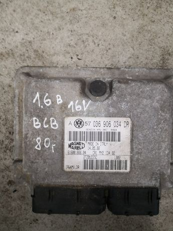 Komputer Sterownik Silnika 1.6 16v bcb Golf IV 4 Bora  A3 8l 034dr