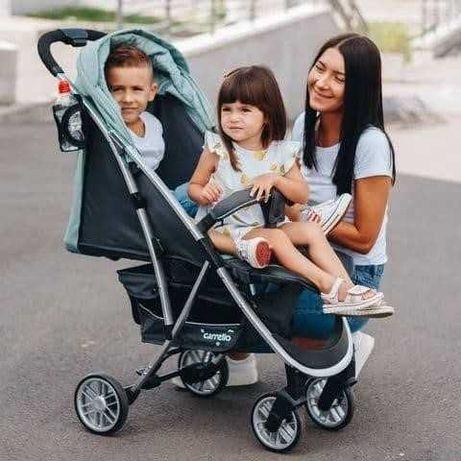 Современная и стильная прогулочная коляска Carrello Gloria