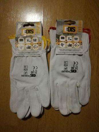 Рабочие кожаные перчатки