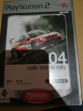 Jogo ps2- colin mcrae rally 04